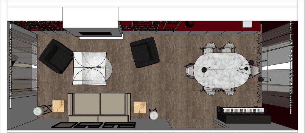 Projet Annecy - Plan 3D
