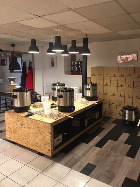 Création d'un atelier de brassage de bière – Bière Yourself