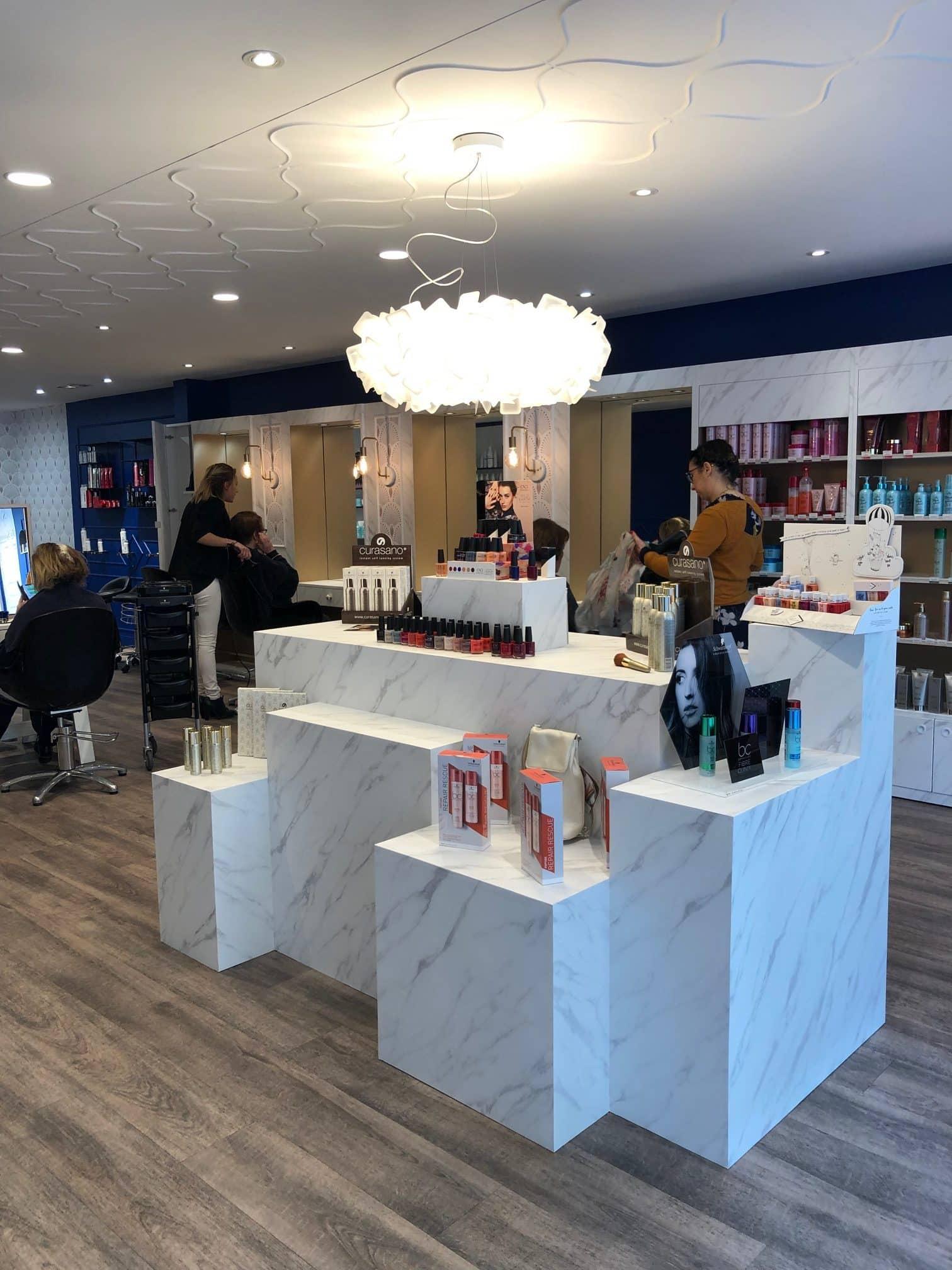 Transformation d\'un salon de coiffure – Les Saisons By ...