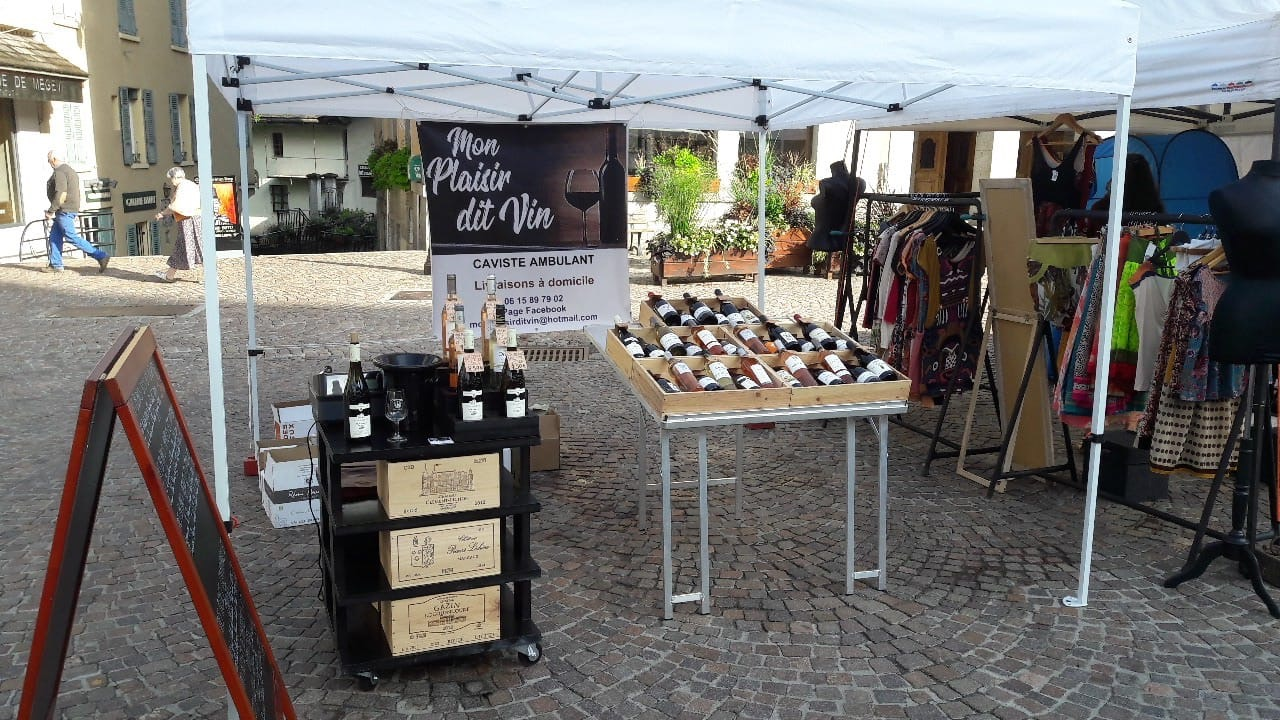 Création d'un stand – Mon Plaisir dit Vin
