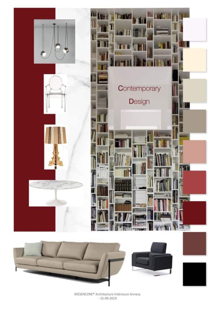 Mood board - Contemporary Design