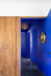 Exemple utilisation Bleu Klein - Couloir
